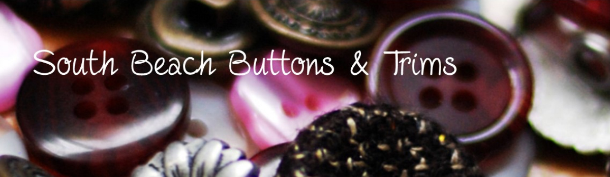 South Beach Buttons & Trims